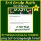 3rd Grade Test Prep Math Practice #2 - Spiral Review CCSS Smarter Balanced