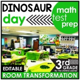 3rd Grade Math Test Prep Review  - Dinosaurs Real World Ma