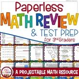 3rd Grade Test Prep Game: Math Review, Paperless Math, Test Prep 3rd Grade