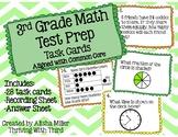 3rd Grade Math - Test Prep Task Cards