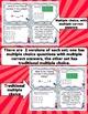 Math Test Prep Task Cards (Superhero Theme) 3rd Grade