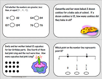 3rd Grade Math Test Prep and Higher Order Thinking Reading 2 Pack