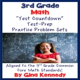 3rd Grade Math Test-Prep, 16 Sets of Problems Covering All of the Standards