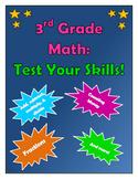 3rd Grade Math--Test Your Skills!