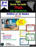 3rd Grade Math Texas Tornado Spiral Review: Google Slides