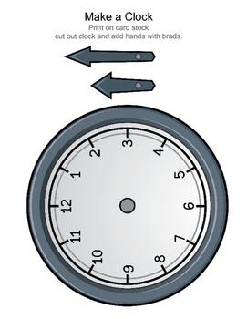 3rd Grade Math: Time Freebie