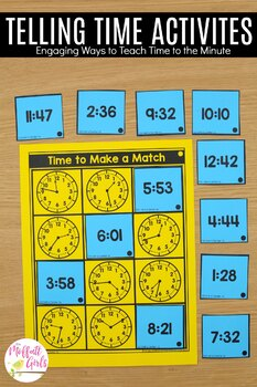 3rd Grade Math: Time to the Minute