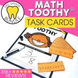 3rd Grade Math Toothy™ Task Kits | Games | Centers | Spiral Review Bundle