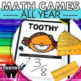 3rd Grade Math Toothy® Task Kits | Math Centers | Math Games |