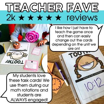 3rd Grade Math Toothy® Task Kits   Math Centers   Math Games  