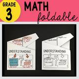 Doodle Notes - 3rd Grade Math Understanding Liquid Volume Foldable