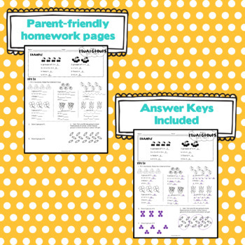 3rd Grade Math: Unit 1 - Eureka/EngageNY Homework Pack
