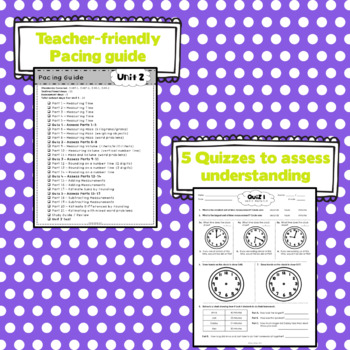 3rd Grade Math: Unit 2 - Eureka/EngageNY Supplement SAMPLE PACK