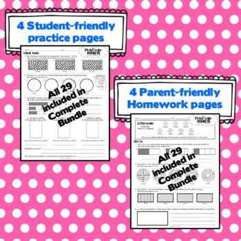 3rd Grade Math: Unit 5 - Eureka/EngageNY Supplement SAMPLE PACK