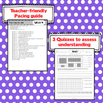3rd Grade Math: Unit 4 - Eureka/EngageNY Complete Supplement Bundle