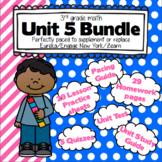 3rd Grade Math: Unit 5 - Eureka/EngageNY/Zearn Supplement Bundle
