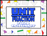 3rd Grade Math- Unit Fraction Video Challenges (3.G.A.2  & 3.NF.A.1)