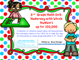 3rd Grade Math Unit 1: Numeracy & Place Value TEKS Instruction & Intervention