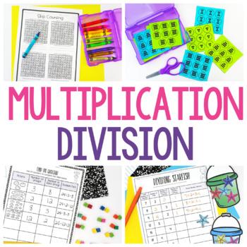 3rd Grade Math - Math Workshop & Guided Math Bundle