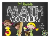 3rd Grade Math Vocabulary