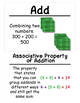 3rd Grade Math Vocabulary Cards: Addition and Subtraction within 1,000 (Large)