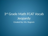3rd Grade Math Vocabulary Jeopardy Review