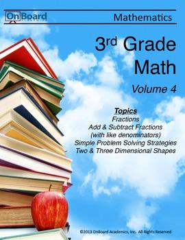 3rd Grade Math Volume 4