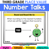 Digital Number Talks Third Grade Place Value Distance Learning