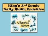 3rd Grade Daily Math