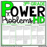 3rd Grade Math Word Problems Homework Printables Math Word Problems Place Value
