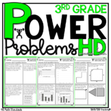 3rd Grade Math Word Problems   Test Prep YEARLONG BUNDLE  