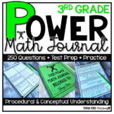 3rd Grade Math Word Problems | Test Prep | Spiral Review | Morning Work