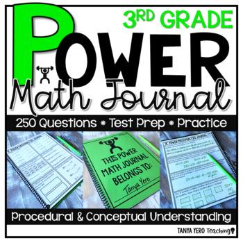 3rd Grade Math Word Problems   Test Prep   Spiral Review   Morning Work