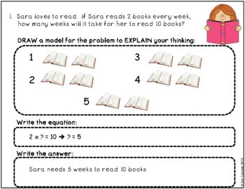 3rd Grade Math Word Problems, Story Problems (English Version)