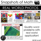 3rd Grade Math Word Problems with Photos 100 QUESTIONS ALL