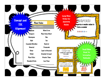 3rd Grade Math Word Wall - Addition and Subtraction TEKS 3.4AB & 3.5A