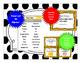3rd Grade Math Word Wall - Measurement TEKS 3.6CDE & 3.7BCDE