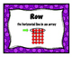 3rd Grade Math Word Wall -Multiplication and Division TEKS