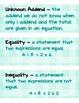 3rd Grade Math Vocabulary (Math Expressions Unit 5)