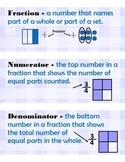 3rd Grade Math Vocabulary (Math Expressions Unit 7)