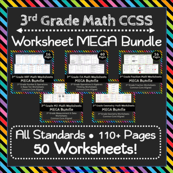 3rd Grade Math Worksheets 3rd Grade Common Core Math Worksheets