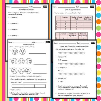 3rd Grade Math Worksheets & Assessments Common Core ...