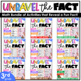 3rd Grade Math Worksheets |  Early Finisher Activities | M