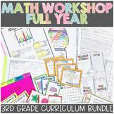 3rd Grade Math | Guided Math Workshop BUNDLE