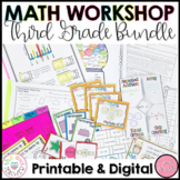 3rd Grade Math | Guided Math Workshop BUNDLE