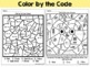 3rd Grade Math and Literacy End of the Year Color by the Code Activities