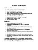 3rd Grade Matter Study Guide