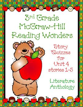 3rd Grade McGraw-Hill Reading Wonders Unit 4 Vocabulary &