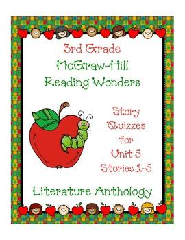 3rd Grade McGraw-Hill Reading Wonders Unit 5 Vocabulary &