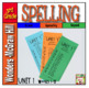 3rd Grade  McGraw-Hill  WONDERS    Spelling Lists BUNDLE